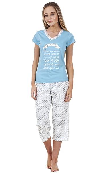 BHS - Pijama - para mujer Verde Day In My Life 36: Amazon.es: Ropa y accesorios