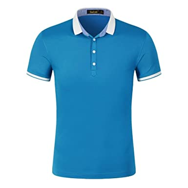 Polo Camisa Unisex Hombre N Hombres Polo Camisa Slim Mujeres Fit ...
