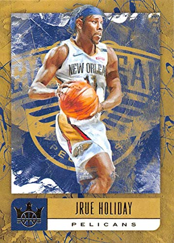 - 2018-19 Court Kings Basketball #45 Jrue Holiday New Orleans Pelicans Official NBA Trading Card By Panini