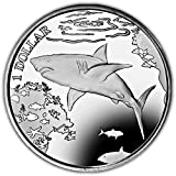 British Virgin Islands 2016 Great White Shark Coin