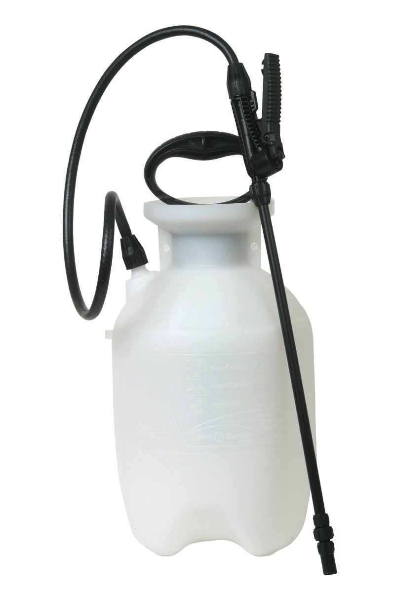 Chapin 20000 1-Gallon Poly Lawn, Garden, And Multi-Purpose Or Home Project Sprayer Great For Fertilizers, Weed Killers, And Common Household Cleaners, 1-Gallon (1 Sprayer/Package)