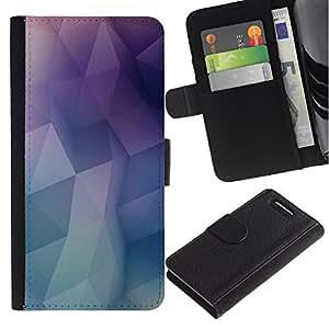 KingStore / Leather Etui en cuir / Sony Xperia Z1 Compact D5503 / poli mínima