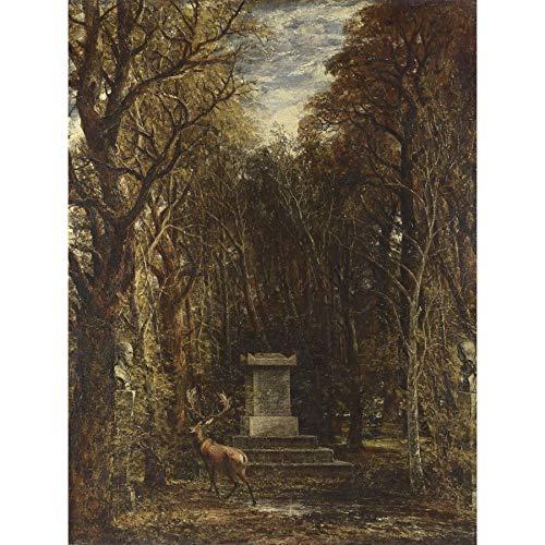 John Constable Cenotaph to The Memory of Sir Joshua Reynolds Large Art Print Poster Wall Decor Premium Mural