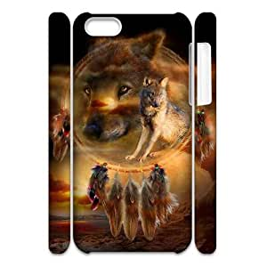 PCSTORE Phone Case Of Wolf Dream Catcher for iPhone 5C