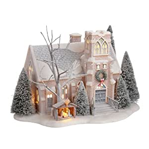 Amazon Com Department 56 Winters Frost Village 56 Holy