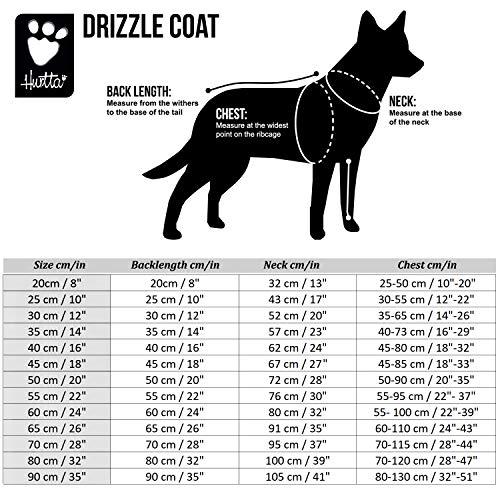 Hurtta Drizzle Coat, Dog Raincoat, Raven, 24 in by Hurtta (Image #6)