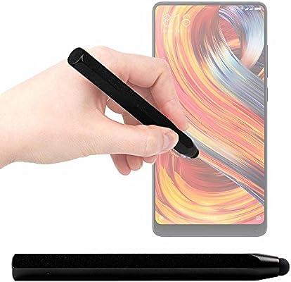 DURAGADGET Lápiz Stylus Negro para Smartphone Doogee Mix 2 ...