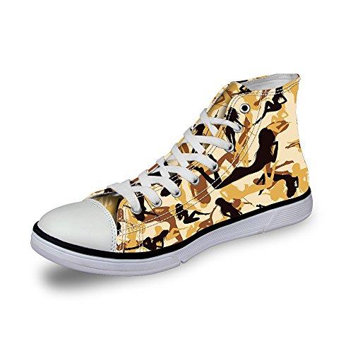 認める不快なのみThiKin スニーカー キャンバス メンズ 帆布 個性的 柄 カジュアル 靴 シューズ 3Dプリント 個性的 軽量 通気 おしゃれ ファッション 通勤 通学 プレゼント