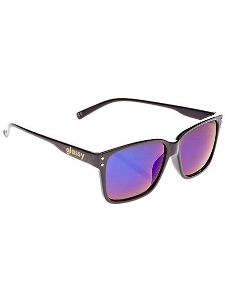93ab75cbf9 GLASSY - Gafas de sol - para hombre black/blue mirror talla única ...