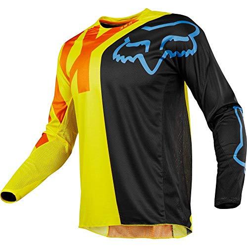 Fox Racing 2018 360 Preme Jersey-Black/Yellow-M