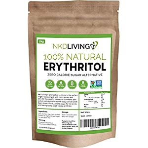 Eritritolo 100% naturale 2 Kg | Sostituto dello zucchero a ZERO Calorie 1 spesavip