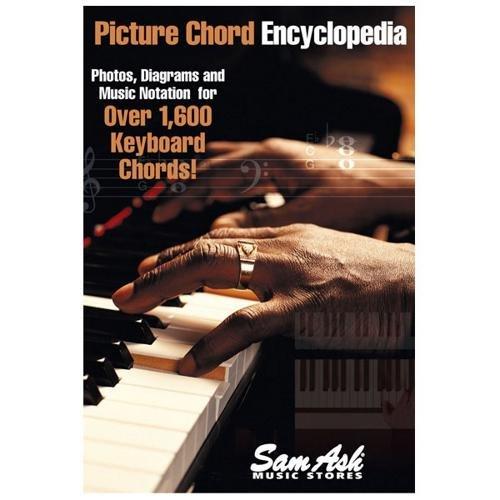Keyboard Ash Sam (Hal Leonard Sam Ash Picture Chord Encyclopedia for Keyboard (6x9))