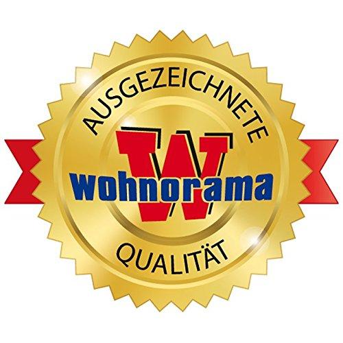 Wohnorama FMD M/öbel Winkelschreibtisch LEX Links rechts montierbar Beton Wei/ß by