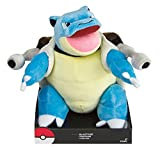 TOMY- Pokemon Blastoise 12'' Tall Official Plush Toy