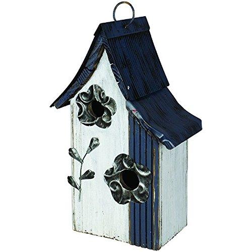 Carson Floral Condo Birdhouse Home Decor