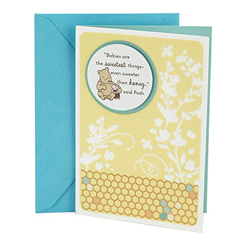 Classic Greeting Card - Hallmark Baby Greeting Card (Winnie the Pooh)