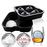 Image of Charmed Ice Ball Maker Mold, 4 x 4.5 cm FDA approved food grade silicone (1)