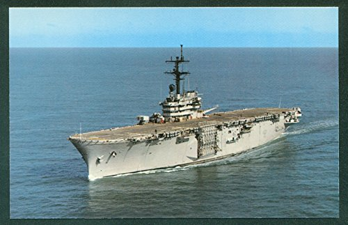 USS GUADALCANAL LPH-7 Amphibious Assault Ship Military US NAVY Postcard ()