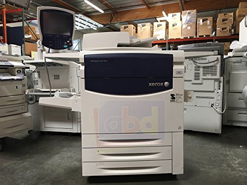 (Refurbished Xerox 700 Digital Color Press Production Printer - Copy, Print, Scan, 3 Trays, Bypass Tray, 497K02420 Offset Catch Tray, BP2 Integrated Fiery Color)
