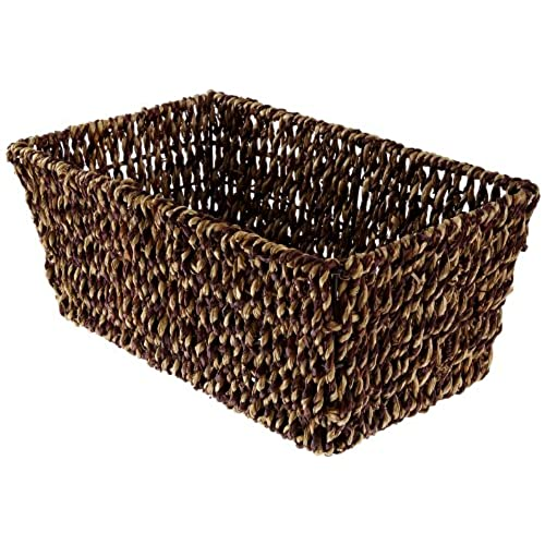 Hoffmaster BSK2151A Seagrass Basket, Fits Folded Guest Towels 4 1/2 Inches  By 8 1/2 Inches, Actual Basket Size 10 Inches Long By 6 1/8 Inches Wide By  4 3/8 ...