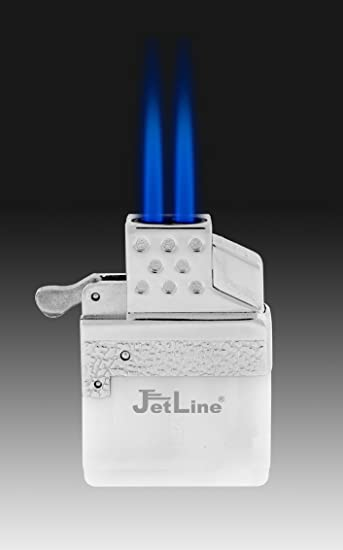amazon com jetline z torch dual flame fluid insert torch lighter