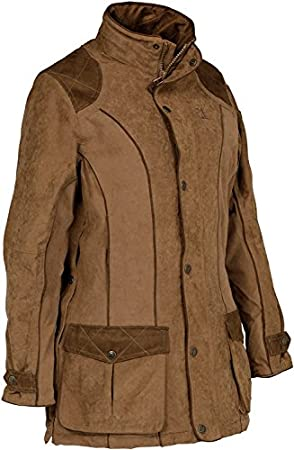 Percussion chaqueta impermeable para mujer para tiro deportivo o caza Rambouillet - x UK traje de neopreno para mujer 12-14: Amazon.es: Deportes y aire ...