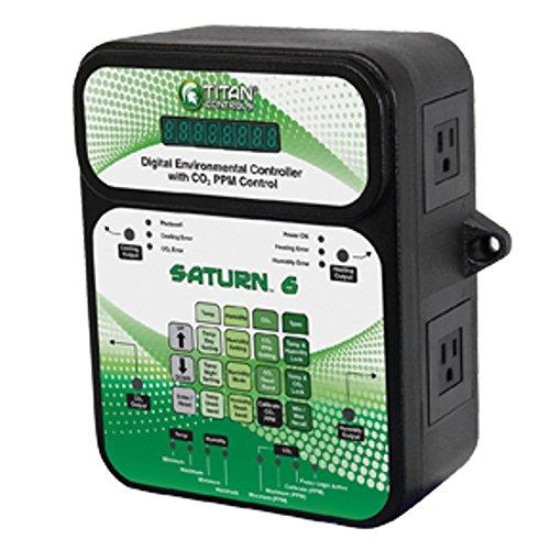 titan-controls-702852-saturn-6-digital-environmental-controller-with-carbon-dioxide-gas-ppm-control