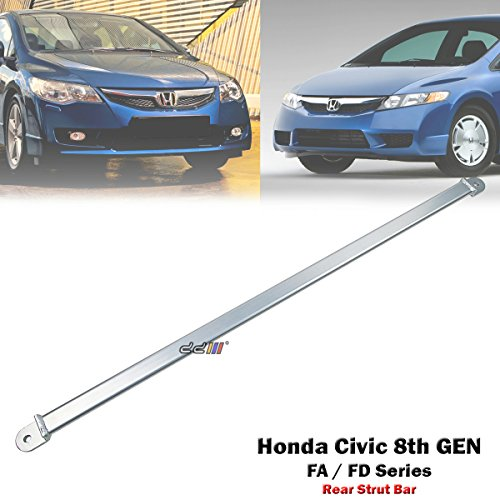 Rear Upper Strut Tower Brace Bar For Honda Civic 8th GEN FD1 FD2 FA1 FA5 FG1 FG2 - Strut Brace Tower Rear