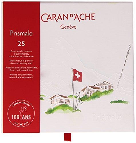 Caran d'Ache 100 Year Anniversary Prismalo Colouring Pencil Set by Caran d'Ache by Caran d'Ache