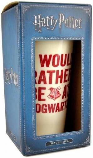 en ingl/és Vaso de Viaje HARRY POTTER Hogwarts Slogan