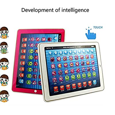Etuoji Kids Multifunctional Touchscreen Edition Tablet Early Educational Tool Tablets: Clothing