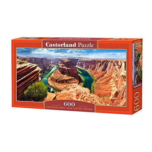 Castorland Horseshoe Bend Glen Canyon Arizona Jigsaw Puzzle  600 Piece