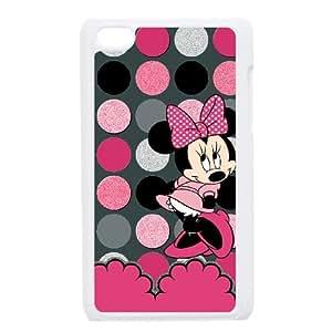 Minnie Mouse Ipod Touch 4 Case White JN73K302