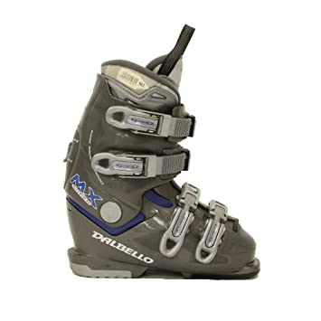 Amazon Com Used Ski Boots >> Dalbello Mx Super Used Gray And Blue Logo Ski Boots Womens