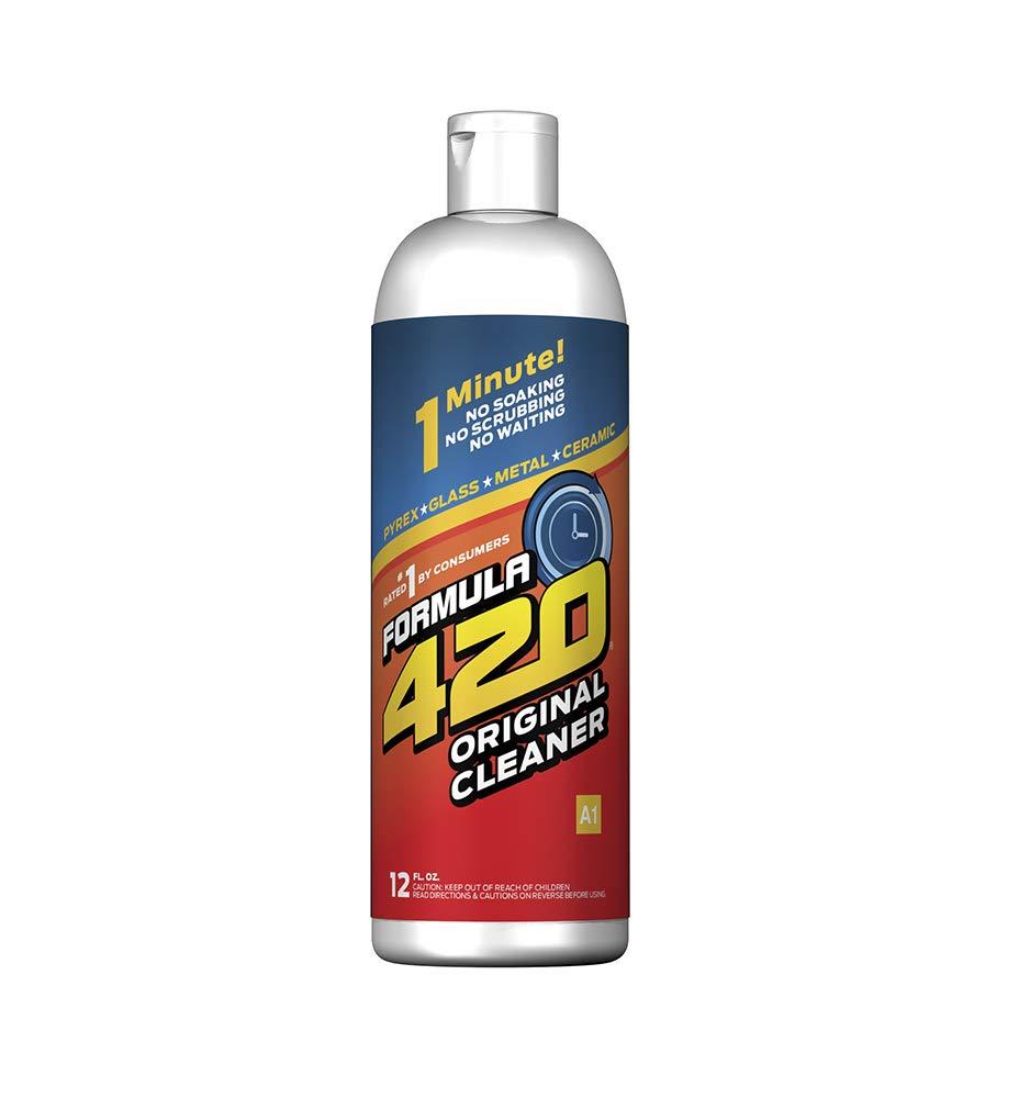 FORMULA 420 CLEANER - GLASS, METAL & CERAMIC CLEANSER [12 FL OZ]