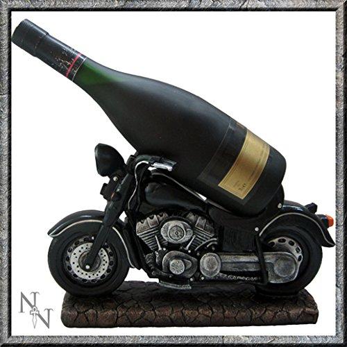 Guzzlers Porte-bouteille de vin en forme de moto