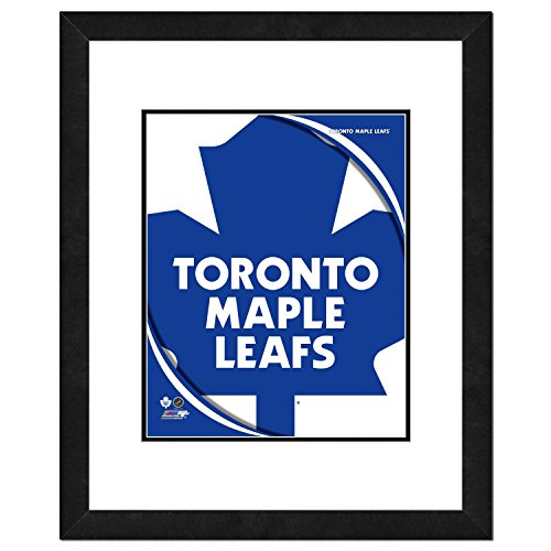 NHL Toronto Maple Leafs Team Logo Double Matted & Framed Photo, 18