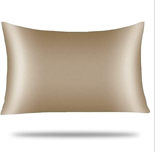 Smooth Room Fit Queen Standard King Housewife Quality Stain Silk Pillowcase