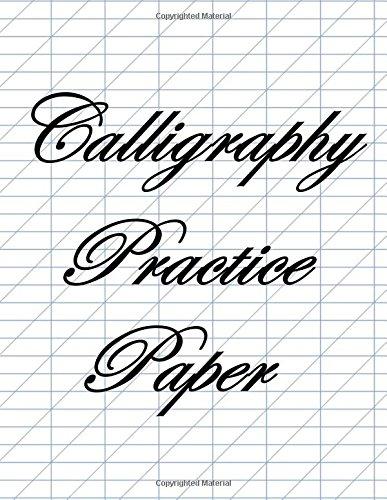 Calligraphy Practice Paper Ebay