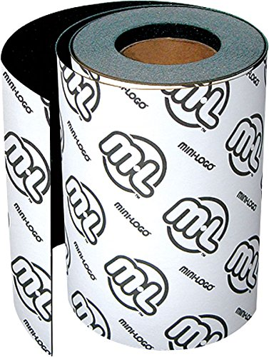 Mini Logo Grip Roll 9x60 Black Skateboarding Griptape by Mini-Logo