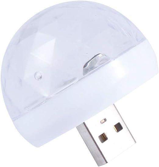Mobestech Lámpara de Mesa Mini Luces de Discoteca USB Luz portátil ...