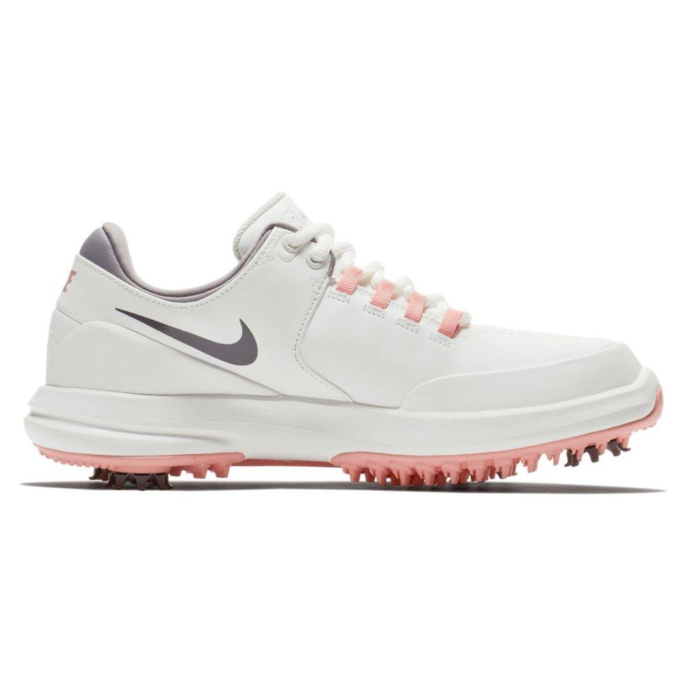 Galleon - Nike Air Zoom Accurate Golf Shoes 2018 Women Summit  White Gunsmoke Bleached Coral Medium 7 0a007f564
