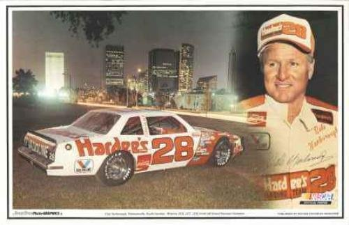sportsstar-photo-graphics-cale-yarborough-hardees-picture-poster-placemat