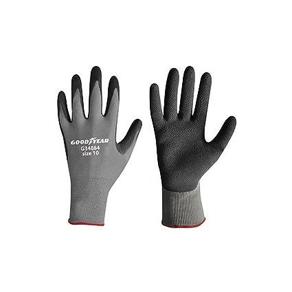 informazioni per data di uscita comprando ora GOODYEAR guanti da lavoro Nylon/Schiuma di Lattice TAGLIA 9 ...