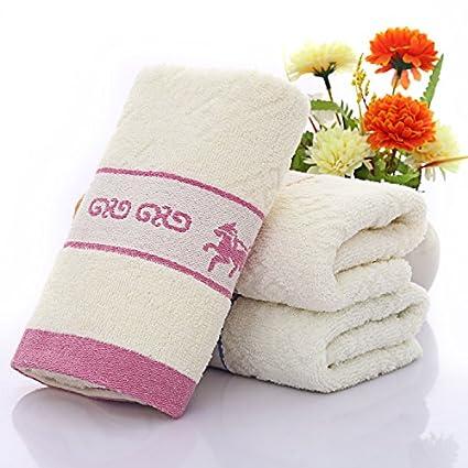 mmynl Pure algodón lavado toallas de cara de Home adultos cara Toallitas 75 x 35 cm