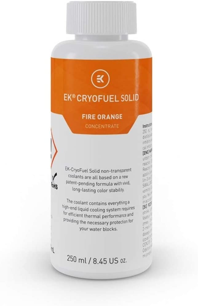 EKWB EK-CryoFuel Solid Concentrate Coolant, 250mL (Fire Orange)
