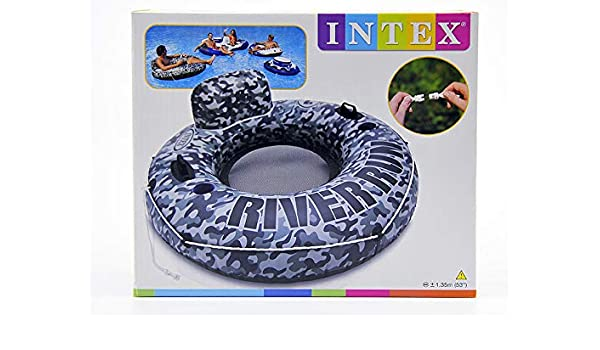 INTEX Donut Hinchable Militar ø135: Amazon.es: Hogar