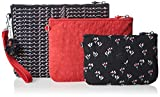 Kipling Iaka L Wristlet, Women's Purse, Mehrfarbig (Small Flower), One Size