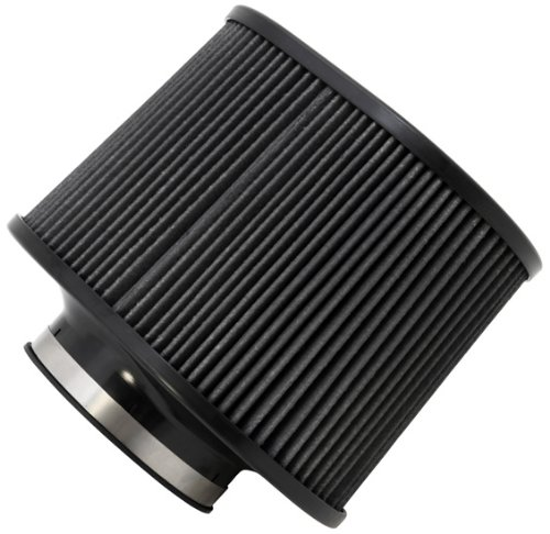 Dryflow Filter Synthetic - AEM 21-2267BF Universal DryFlow Clamp-On Air Filter: Oval Tapered; 4.5 in (114 mm) Flange ID; 7 in (178 mm) Height; 8 in x 10.5 in (203 mm x 267 mm) Base; 9.5 in x 6.75 in (241 mm x171 mm) Top