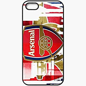 Personalized iPhone 5 5S Cell phone Case/Cover Skin Arsenal Arsenal Football Black